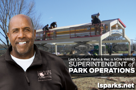 Now Hiring Superintendent of Park Operations