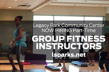 LPCC Hiring Fitness Instructors