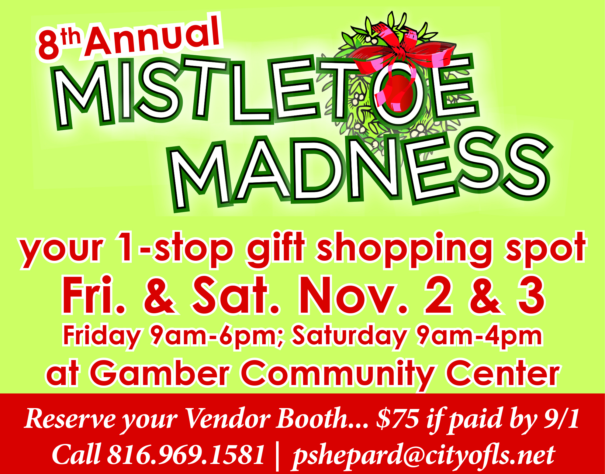 Mistletoe Madness 2017