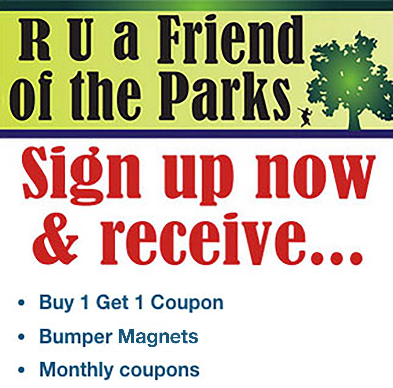 R U a Friend of the Parks