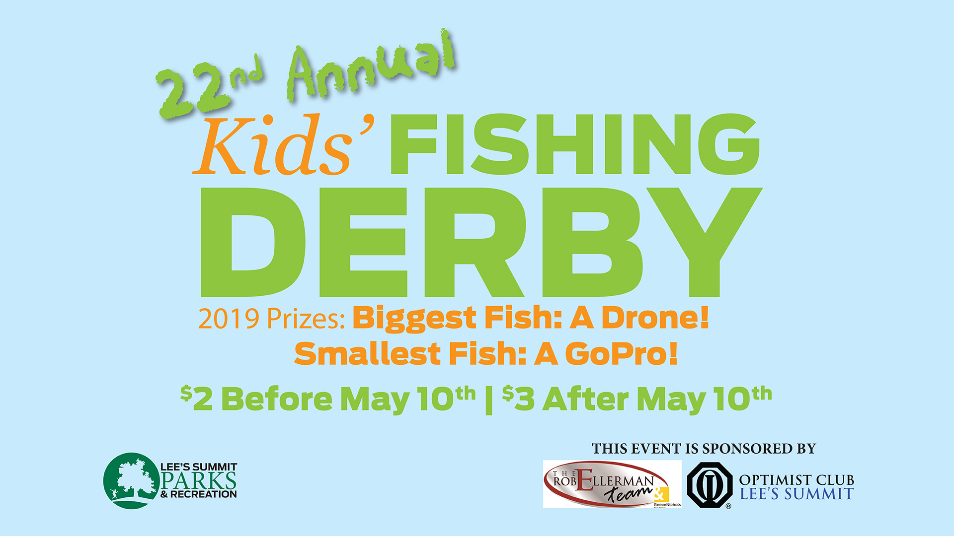 22nd Annual Fishing Derby is May 18 at Legacy Park