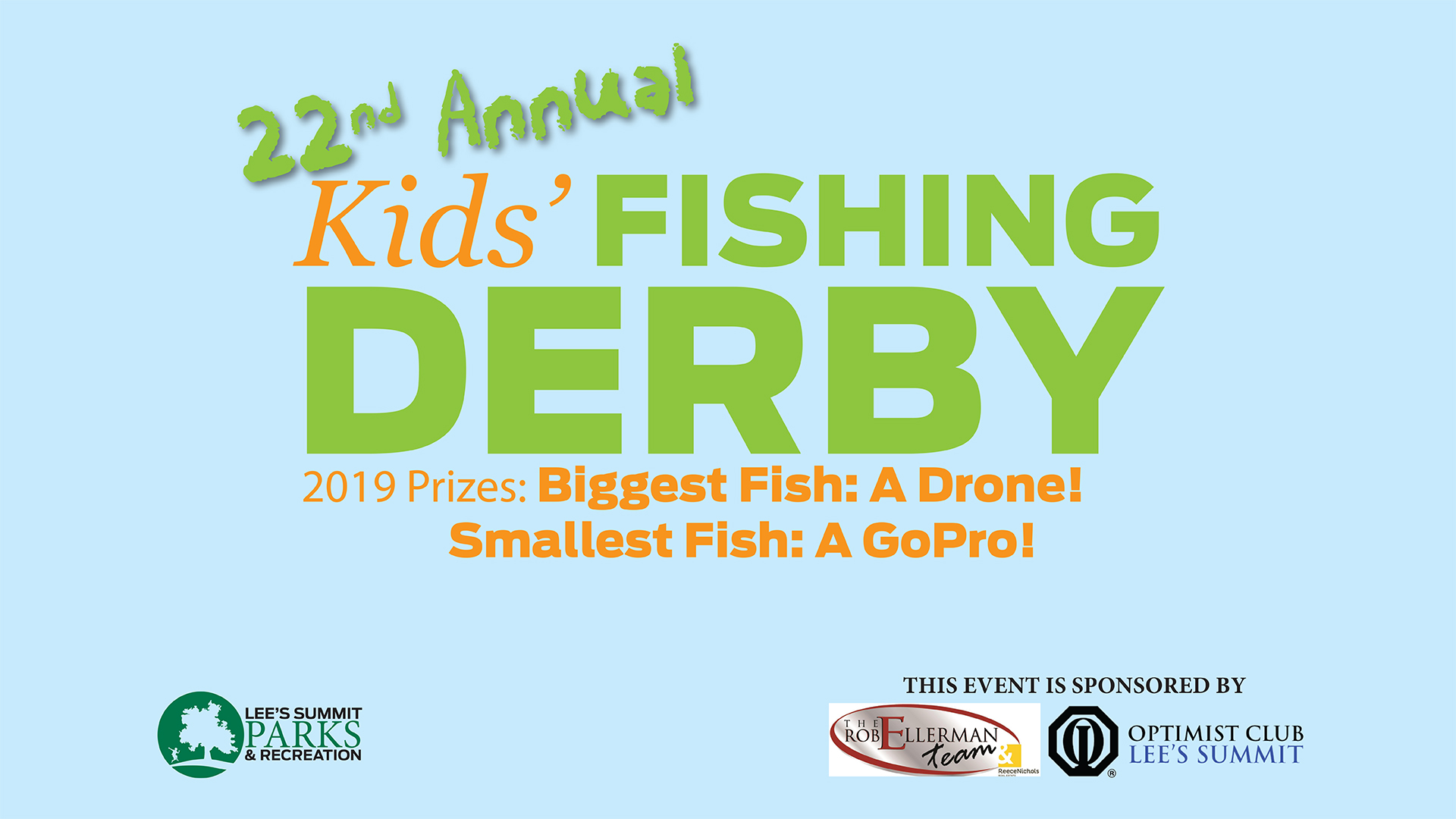 22nd Annual Fishing Derby is June 1 at Legacy Park