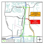 Todd George Parkway Lane Closure Switch Set for Thursday, July 20