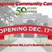 Longview Community Center to Open on December 17