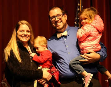 Dylan Eppert Named City of Lee's Summit Employee of the Year