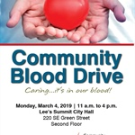 City of Lee's Summit Hosting Community Blood Drive