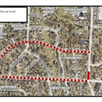 Section of SW Murray Road is Closed for Utility Work