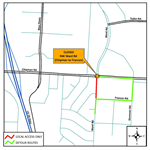 Section of Ward Road to Close June 17 for Water Main Work