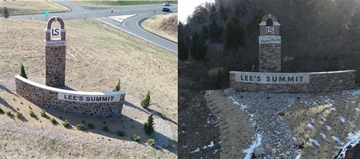Lee's Summit Celebrates Completion of Gateway Monument Beautification