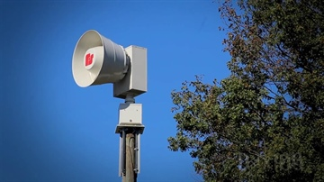 Storm Siren Test Postponed to February 12, Weather Permitting- TEST CANCELLED