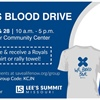 City of Lee's Summit Hosts Blood Drive July 27 and July 28