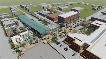 Lee's Summit Unveils Plan for Downtown Farmer's Market and Conservatory