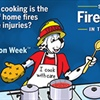 "As Fire Prevention Week™ approaches, Lee's Summit Fire Department remind residents: ""Serve Up Fire Safety in the Kitchen!™"