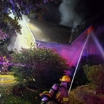 Fire Heavily Damages Lee's Summit Home