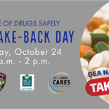 Lee's Summit Offers Two Locations for Drug Take-Back Day