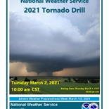 Statewide Tornado Drill Scheduled for March 2