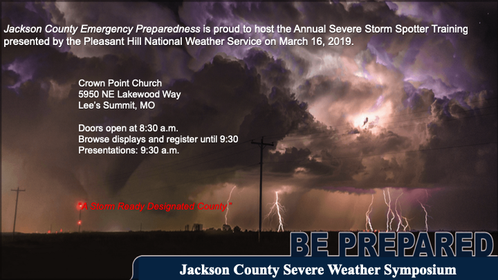 Jackson County Severe Weather Symposium March 16