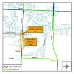 SW County Line Road and SW Ward Road Set to Close on Monday, May 13