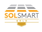 Image of the SolSmart Gold logo.