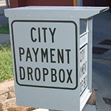 Water Department City Payment Dropbox