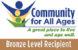 Community For All Ages Bronze Award Logo
