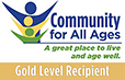 Community For All Ages Gold Award Logo
