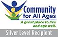 Community For All Ages Silver Award Logo