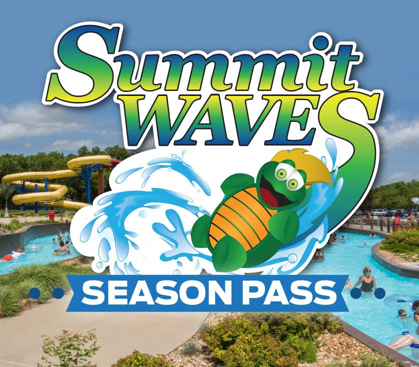 Summit Waves Season Pass advertisement.