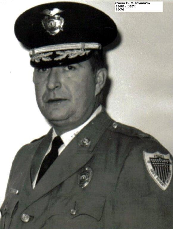 Image of Chief O.C. Roberts