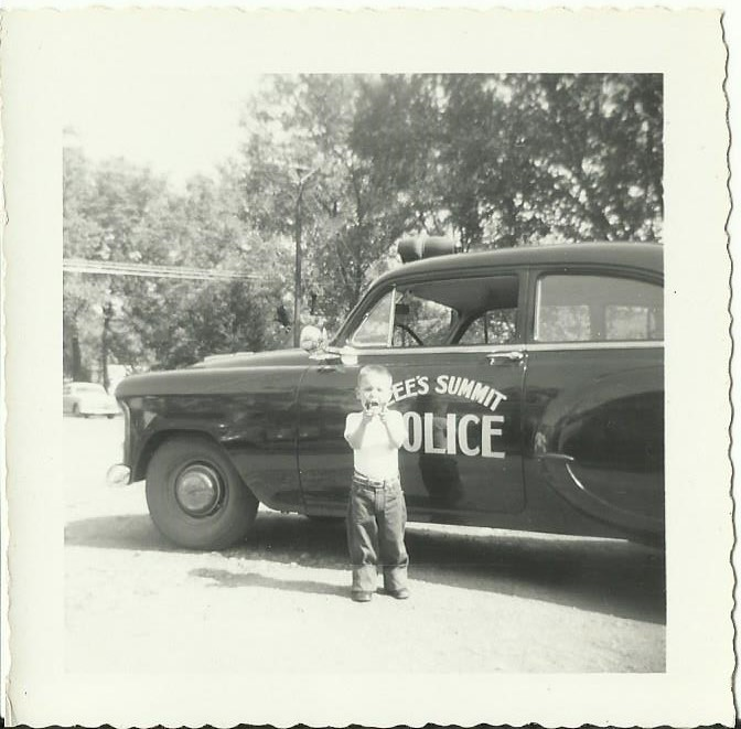Image of 1954 Chevrolet Police Cruiser