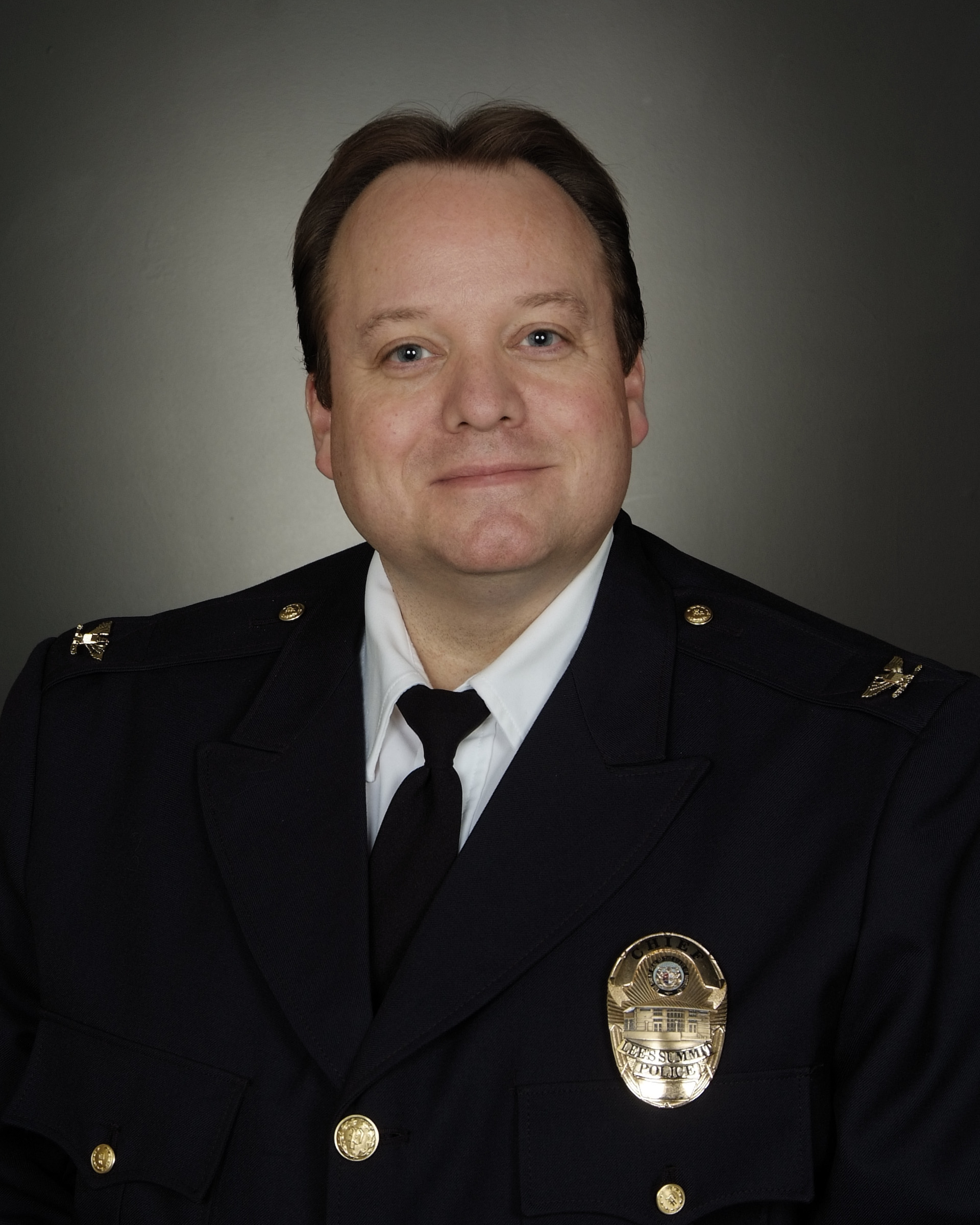 Image of Chief Travis Forbes.