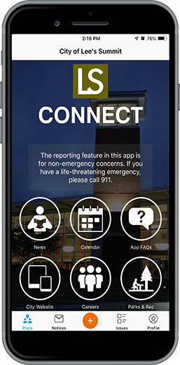 LSConnect Phone App