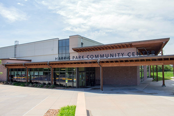 Harris Park Community Center Front