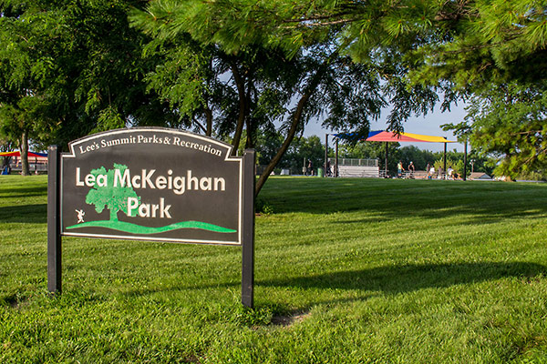 Image of Lea McKeighan North sign.